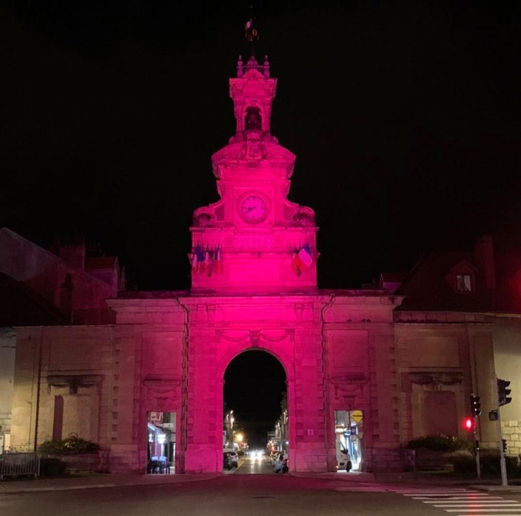 Octobre rose à Pontarlier